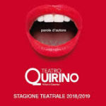 TEATRO QUIRINO - STAGIONE 2018/2019