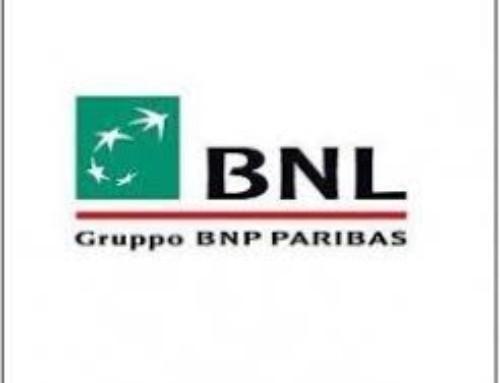 Volantino tassi mutui BNL agenzia coni 2021